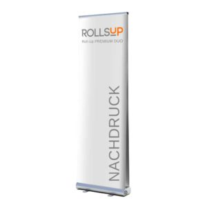 Roll-Up PREMIUM DUO – Nachdruck